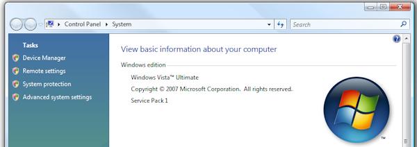 SP1 Vista 32 bits