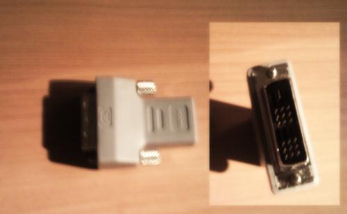 Adaptateur HDMI DVI