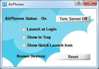 Airphones PC
