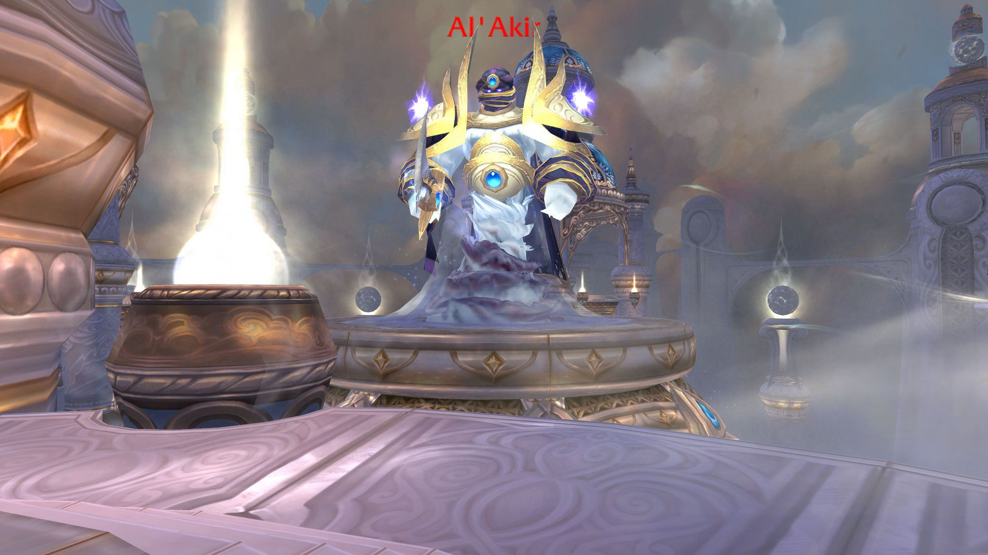 Al'akir Boss Wow