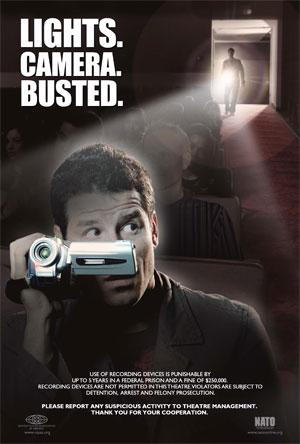 Filmer au cinéma