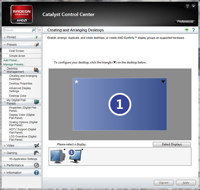 Cataclyt control center