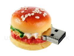 Hamburger clé usb