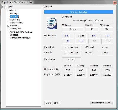 Cpu Clock Utility