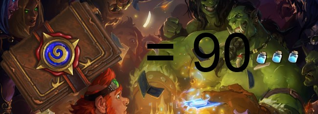 Deck dust average in Hearthstone