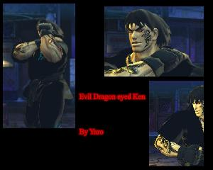 Skin Devil Ken Street Fighter 4