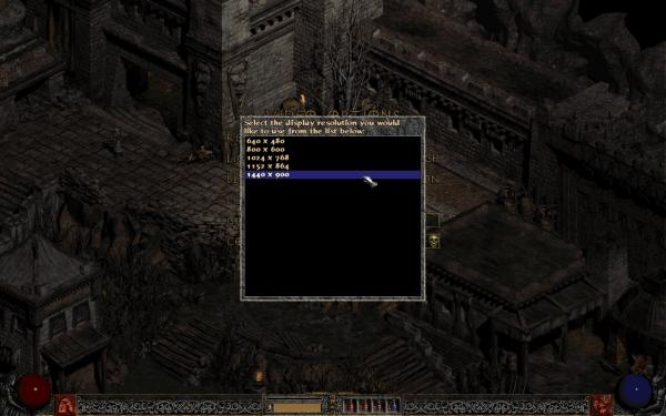 Diablo 2 Haute résolution