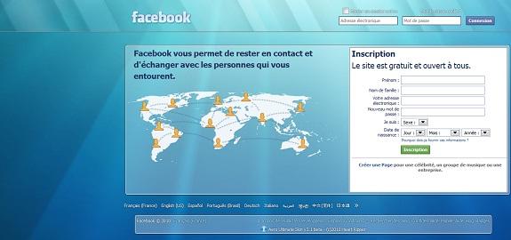 Facebook SKin Aero
