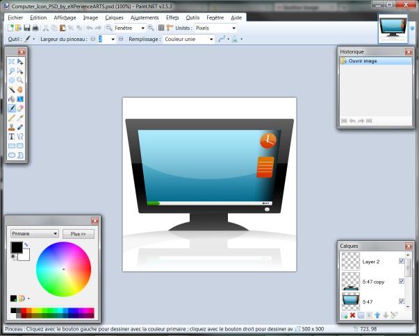 Fichier Psd Paint