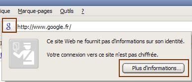 Firefox barre