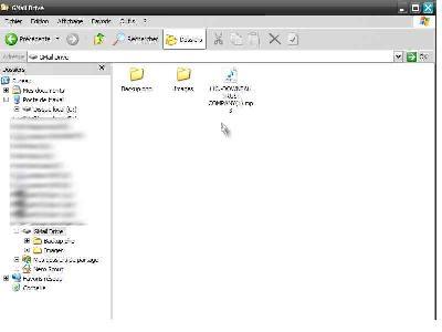Gmail Drive Shell