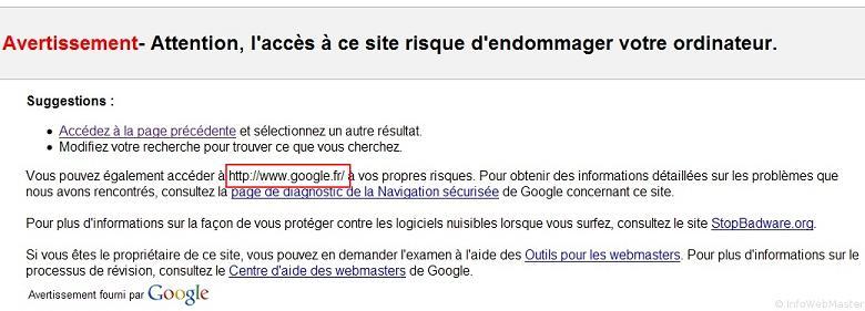 Bug Google