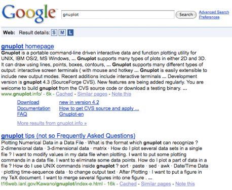 Nouveau résultat sur google