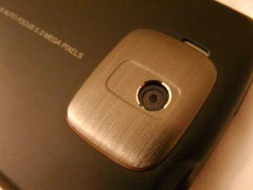 Htc touch HD caméra