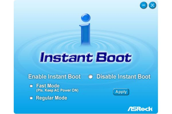 Instant Boot
