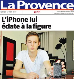 Iphone explose