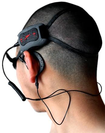 Speedo casque MP3 sous l' eau