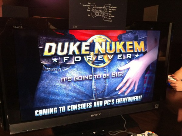It's going to be big Duke Nukem