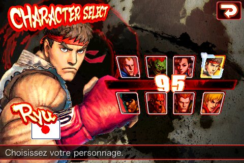 Liste perso Street fighter 4