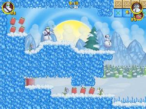 The Lost Viking sur pc Lost snowmen