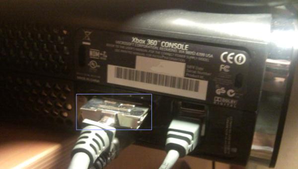 Xbox de dos HDMI + yuv