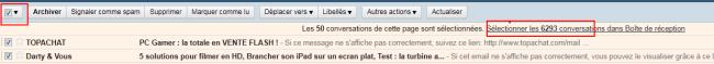 Marque comme lu gmail