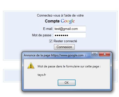 Mot de passe Firefox