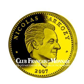 Nicolas Sarkozy monnaie