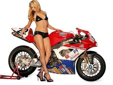 Moto sexy