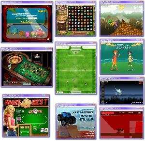 Pack de 80 jeux en flash