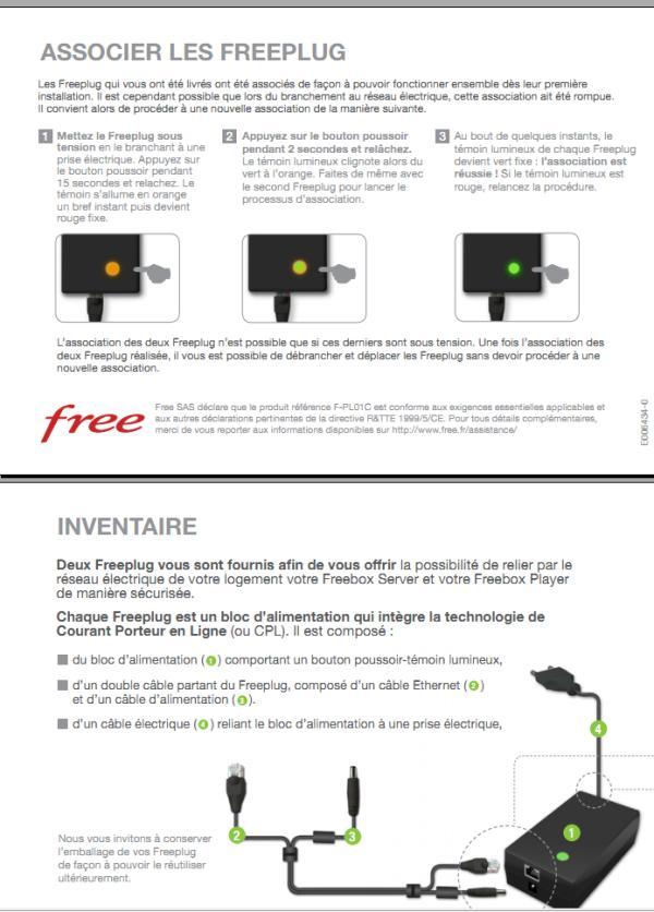 Associer les freeplug
