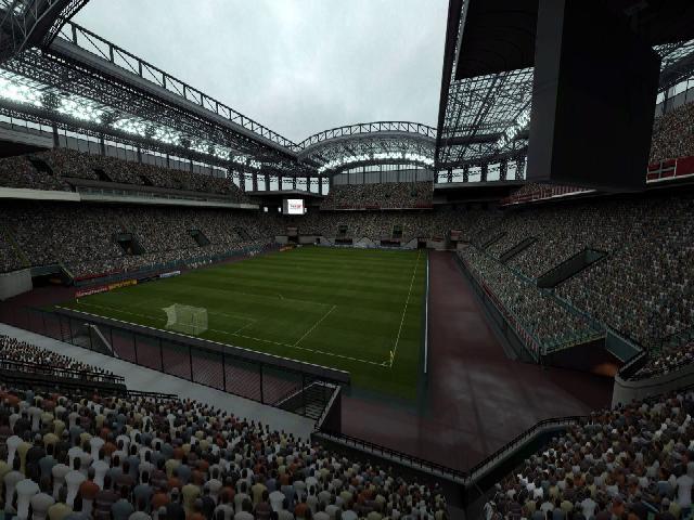 PES 2009 stade