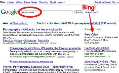 Bing.com porno