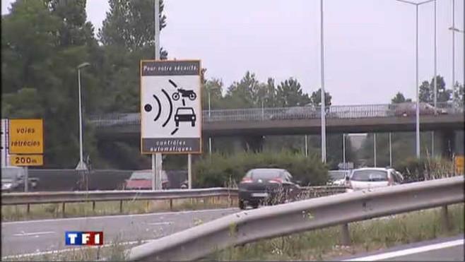 Radar panneau