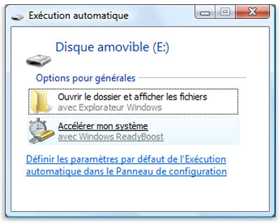 execution automatique usb