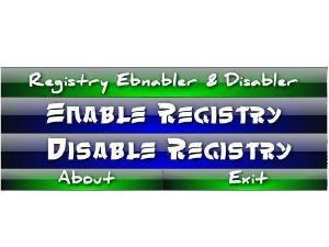 Désactiver accès registre Windows 7 logiciel