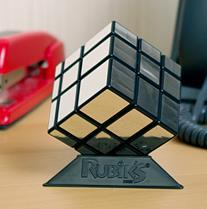 Rubik'cub argent