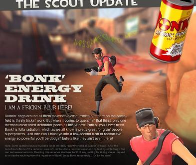Scout TF2 maj