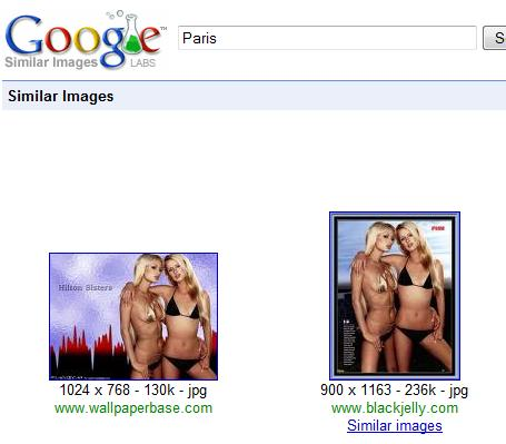 Image similaire Google