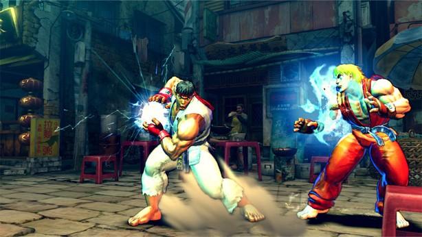 Street Fighter 4 haddoken