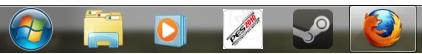 Taskbar taille normale