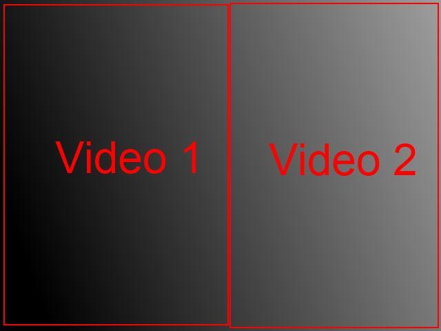 Video côte à côte