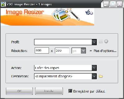 VSO Image Resize