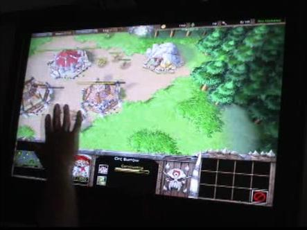 Ecran tactile Warcraft 3