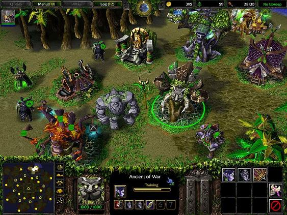 RétroTest Warcraft III Reign of Chaos - Game In Live Blog: Jeu Vidéo
