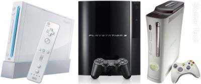 WII PS3 XBOX 360