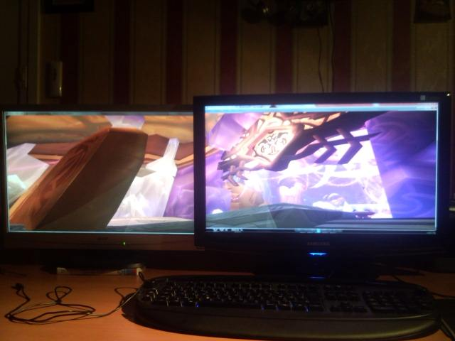 World Of Warcraft Dual Screen