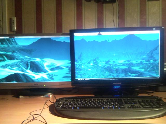 World Of Warcraft Dual Screen WOTLK